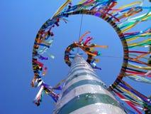 Árbol de Colorfull mayo Imagenes de archivo