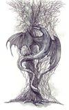 Árbol de dragón Fotos de archivo libres de regalías