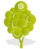 Árbol de Dreamstime stock de ilustración