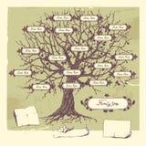 Árbol de familia. stock de ilustración