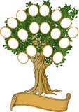 Árbol de familia Imagen de archivo libre de regalías