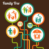 Árbol de familia libre illustration