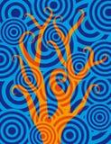 Árbol de fuego Imagen de archivo libre de regalías
