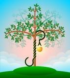 Árbol de la biblia del conocimiento Imagen de archivo