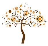 Árbol de la caída Imagen de archivo
