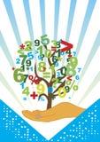 Árbol de la contabilidad ilustración del vector