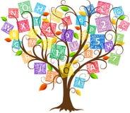 Árbol de la educación Foto de archivo libre de regalías