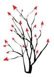Árbol de la flecha Fotos de archivo libres de regalías