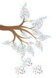 Árbol de la música ilustración del vector