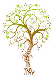 Árbol de la música Fotografía de archivo