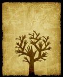 Árbol de la mano Ilustración del Vector