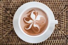Árbol de la mariposa del arte del café Foto de archivo libre de regalías