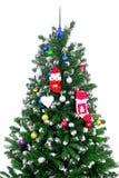 Árbol de la Navidad y del Año Nuevo. Aislado Imágenes de archivo libres de regalías