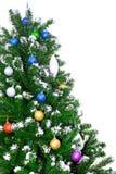 Árbol de la Navidad y del Año Nuevo. Aislado Fotografía de archivo