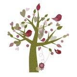 Árbol de la primavera Fotografía de archivo