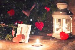 Árbol de la vela de la iluminación Fotos de archivo