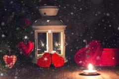 Árbol de la vela de la iluminación Fotos de archivo libres de regalías