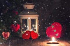 Árbol de la vela de la iluminación Fotografía de archivo