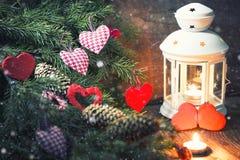 Árbol de la vela de la iluminación Foto de archivo libre de regalías