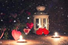 Árbol de la vela de la iluminación Foto de archivo