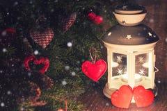 Árbol de la vela de la iluminación Fotografía de archivo libre de regalías