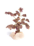 Árbol de la vida Amethyst Imagen de archivo libre de regalías