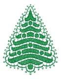 Árbol de Lacy Christmas. libre illustration