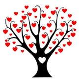 Árbol de los corazones. Fotografía de archivo libre de regalías