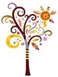 Árbol de lujo Imágenes de archivo libres de regalías