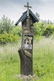 Árbol de madera de sculpture Fotografía de archivo