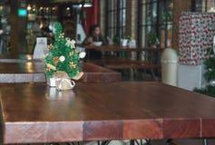 Árbol de Mini Christmas Fotografía de archivo libre de regalías