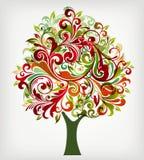 Árbol de navidad stock de ilustración