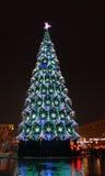 Árbol de navidad 2013 Fotografía de archivo libre de regalías
