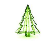 Árbol de navidad 3d Imagenes de archivo