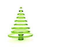 Árbol de navidad 3d Imágenes de archivo libres de regalías
