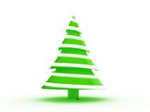 Árbol de navidad 3d Foto de archivo libre de regalías
