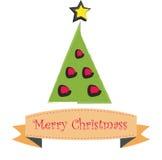 Árbol de navidad Imagenes de archivo