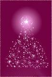 Árbol de navidad abstracto libre illustration