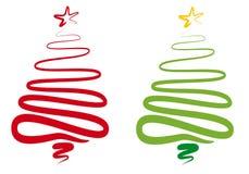 Árbol de navidad abstracto,   ilustración del vector