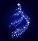 Árbol de navidad abstracto Fotografía de archivo libre de regalías