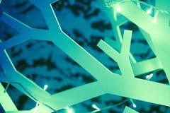 Árbol de navidad abstracto Imagen de archivo