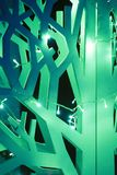 Árbol de navidad abstracto Imagenes de archivo