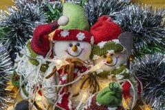 Árbol de navidad adornado fotografía de archivo libre de regalías