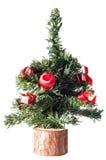 Árbol de navidad artificial Fotografía de archivo libre de regalías