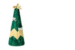 Árbol de navidad artificial con el lugar para el texto del yout Imagenes de archivo