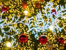 Árbol de navidad artificial del pino Imágenes de archivo libres de regalías