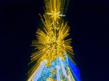 Árbol de navidad artificial del pino Imagen de archivo
