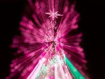 Árbol de navidad artificial del pino Fotografía de archivo