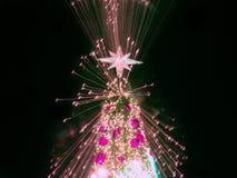 Árbol de navidad artificial del pino Fotografía de archivo libre de regalías