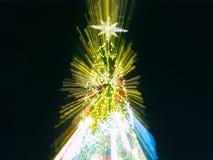 Árbol de navidad artificial del pino Fotos de archivo